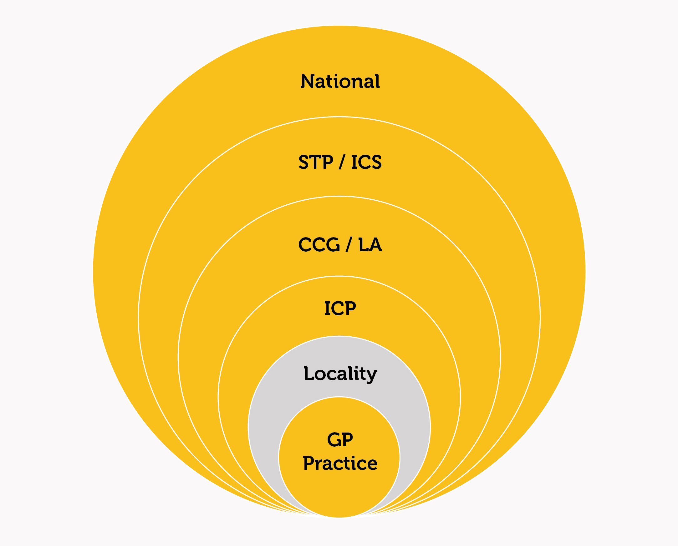 NHS place-based diagram